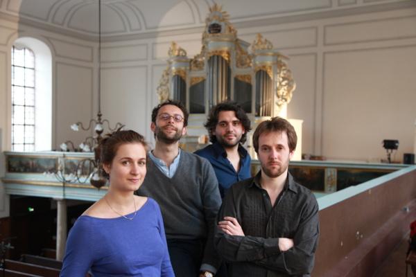 Anna Besson, Benjamin Alard, Reinoud Van Mechelen, Ronan Kernoa